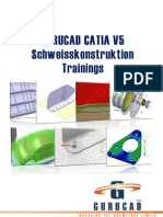 GURUCAD CATIA V5 Schweisskonstruktion Trainings-De