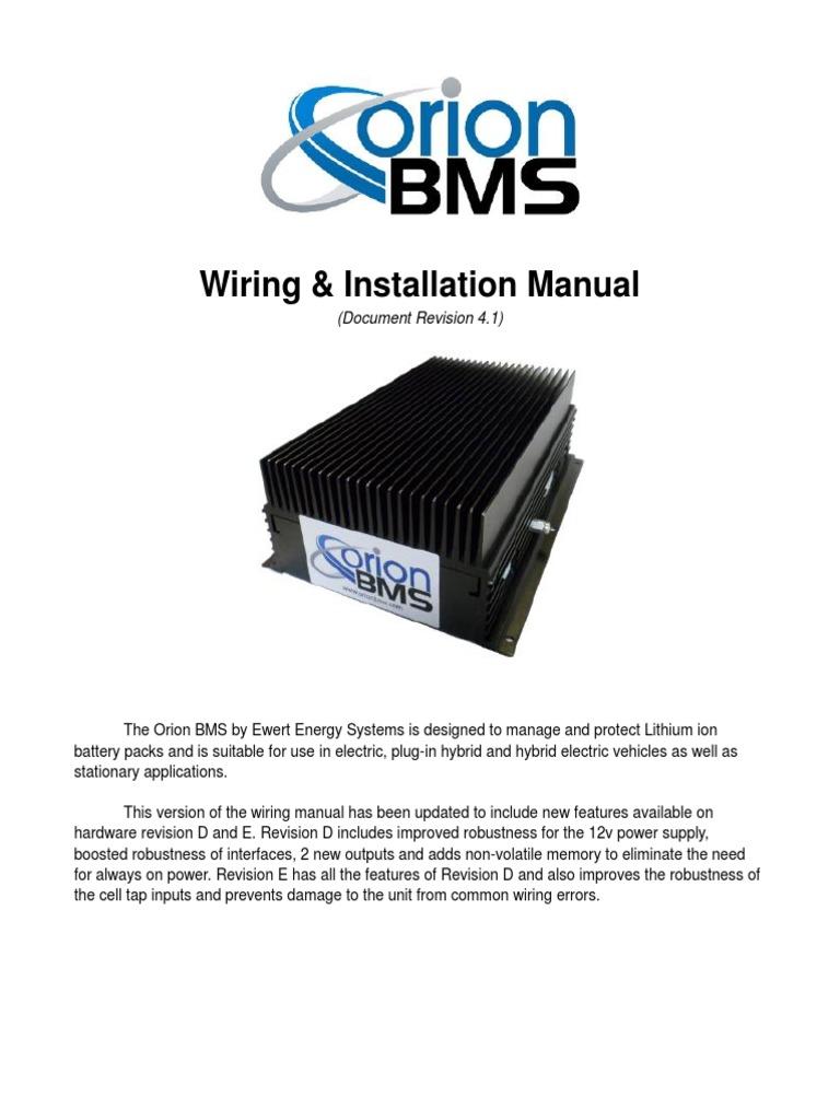 Astounding Orion Bms Wiring Diagram Basic Electronics Wiring Diagram Wiring 101 Taclepimsautoservicenl