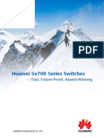 Huawei Sx700 Series Switches - Fast Future-Proof Award-Winning