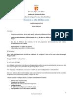 Discours de Christian ESTROSI - Avenir de la Villa Méditerranée le 8.12.2016 Hôtel de Région à 16h