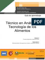 Analisis y Tecnologia de Los Alimentos m2 s2