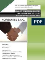 PLAN DE NEGOCIO INMOBILIARIO Horizontes SAC