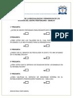 Encuesta Sobre La Reinsercion Social de Los Internos (1)