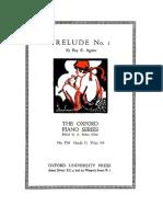 Agnew - Prelude No 1