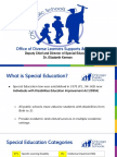 CPS Special Education Presentation
