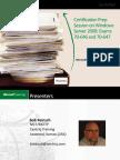 BobReinschWindowsServer2008CertificationPowerpoint05192010 [Autosaved]