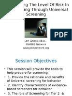 Screening.wsasP .2013