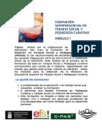Formacion en Pedagogia Curativa Canarias