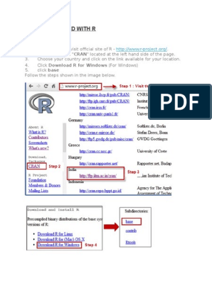 Getting Started With R   Database Index   R (Programming