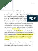 final revised progression ii essay