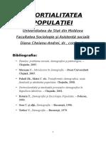 DIVORTIALITATEA POPULAŢIEI