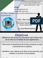 Presentación Tutoria 2 Etica ProfesionaI Capitulo 2-3