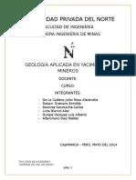 GEOLOGÍA APLICADA EN YACIMIENTOS MINEROS - LUCHO.docx