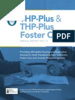 2015-16 THP-Plus & THP+FC Annual Report
