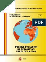 007 Posible Evolucion de Afganistan. Papel de La Otan