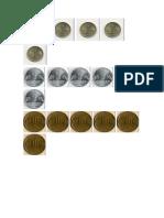 Monedas y Textos y Sinomimos