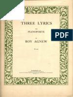 Agnew Three Lyrics