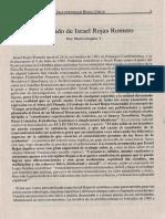 El Legado de Israel Rojas Mario Grajales