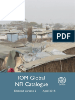APRIL-2015 -IOM Gobal NFI Catalogue
