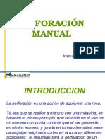 Perforación Manual - Descripcion