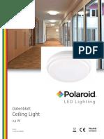 Polaroid-Leaflet - Ceiling Light Deu