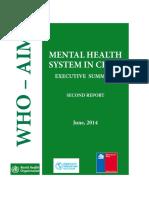 Mental Heatlh WHO 2014