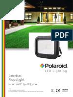 Polaroid-Leaflet - Floodlight Deu