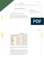 Dez Principais Motivos Para Experimentar o Excel 2010
