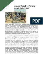 Sejarah Perang Tabuk