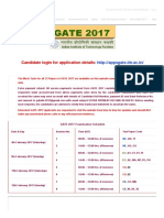 GATE 2017 Official
