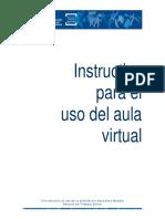 Instructivo de Uso Del Aula Virtual