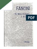 Franz Fanon Te Mallkuarit e Botes