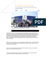 07.12.2016 Puebla Noticias - Inaugura RMV Centro de Salud Con Servicios Ampliados