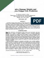 Cumulative Damage Prediction