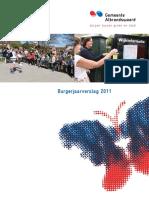 Burgerjaarverslag 2011