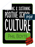 Excerpt of Positive School Culture Phil Boyte
