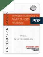 170903_procediemeinto Constructivo de Un Pavimento de Concreto Fibroreforzado