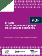 El Lugar de Las Mujeres Uruguayas en La Toma de Decisiones