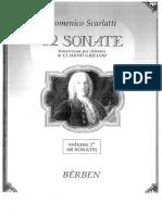 82 SONATE Per Chitarra - Domenico Scarlatti (Vol 1)