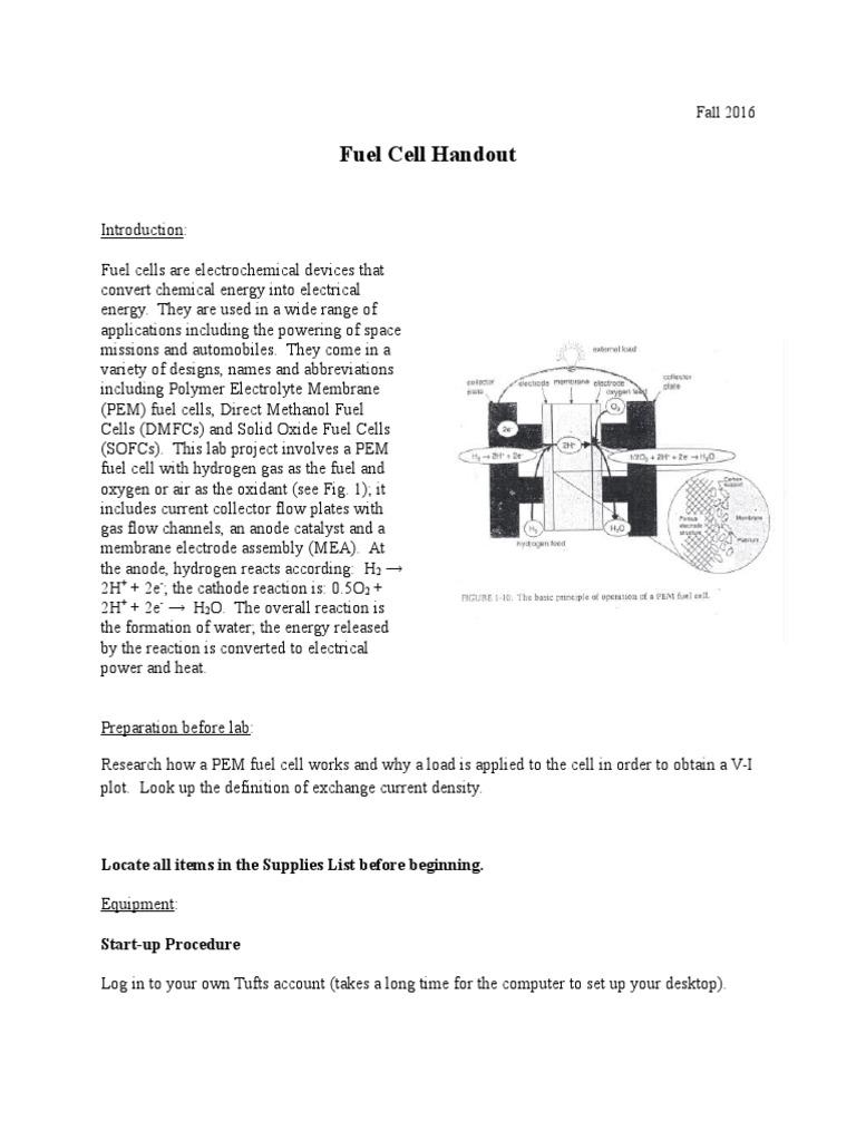fuel+cell+handout+f16 (1) | proton exchange membrane fuel cell