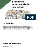 Familia Como Elemento Fundamental de La Sociedad