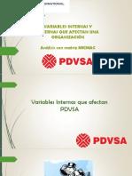 Matriz Mic-Mac PDVSA