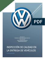 Inspeccion de Calidad en La Entrega Del Vehiculo