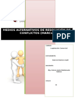 _medios Alternativos de Resolución de Conflictos
