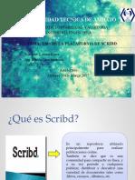 Usos de la plataforma de  Scribd