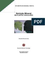 Nutrição Mineral Das Plantas Vasculares