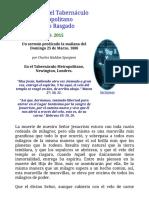 Charles Spurgeon _ El Velo Rasgado_ Sermón 2015 _ Tabernáculo Metropolitano