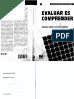 Santos Guerra, M. a. (1998). Evaluar Es Comprender