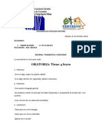 Lista Upel Diplomado Homilética y Oratoria