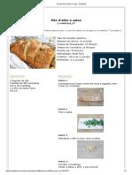 Receita Pão d'Alho e Salsa - Petitchef